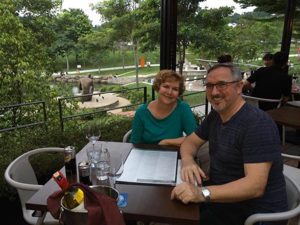 Pauline & John from Kuala Lumpur, Malaysia