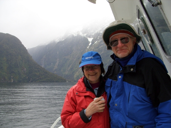 James & Helen from Christchurch, New Zealand