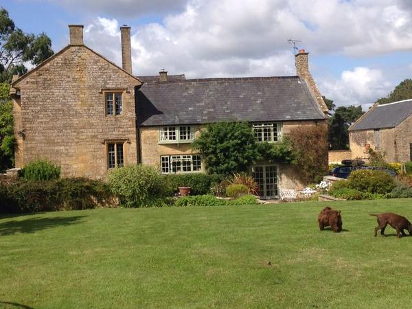 Large Ham Stone farmhouse