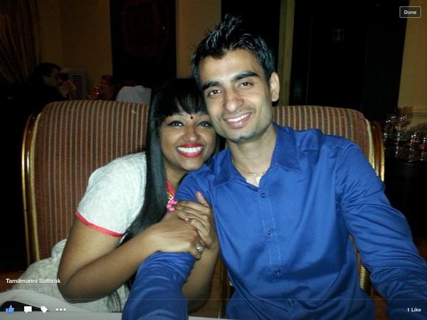 Priscilla & Bikash from Singapore, Singapore