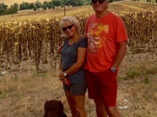 Graham & Maggie from Saint-Amans-du-Pech, France