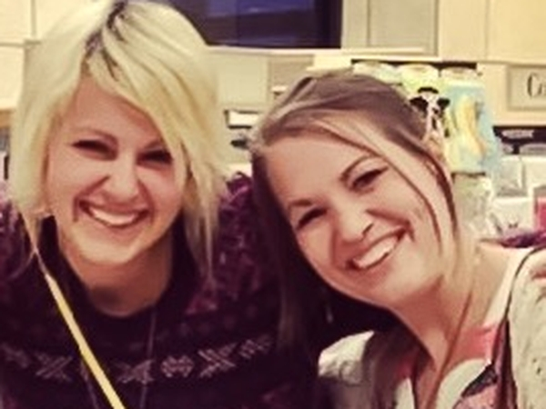 Hannah & Katy from Fairfax, VA, United States