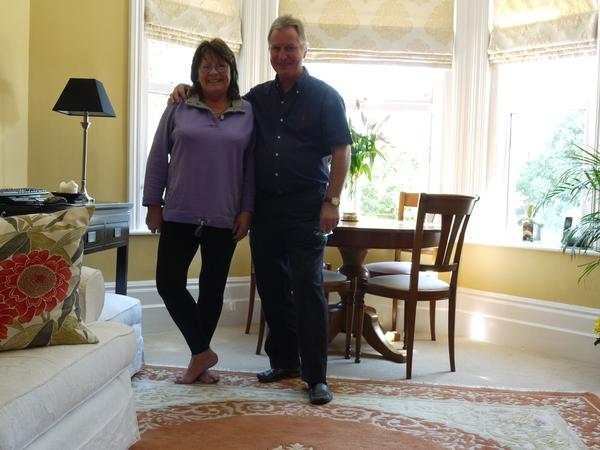 Christine & Keith from Folkestone, United Kingdom