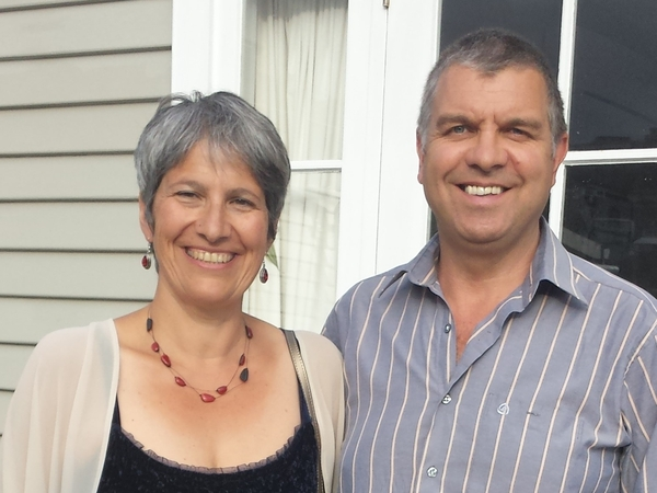 Lefki & Dave from Wellington, New Zealand