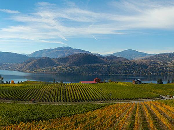 Enjoy a short break in Autumn in Penticton, British Colombia