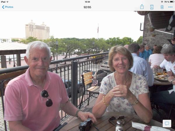 Carolyn & Michel from Rueil-Malmaison, France