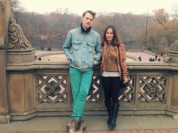 Rhylon & Da in from Seoul, South Korea