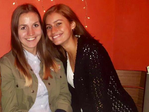 Adriana & Franzi from Rheinbach, Germany