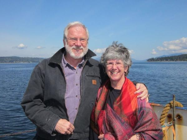 Pippa & David from Hornby Island, British Columbia, Canada