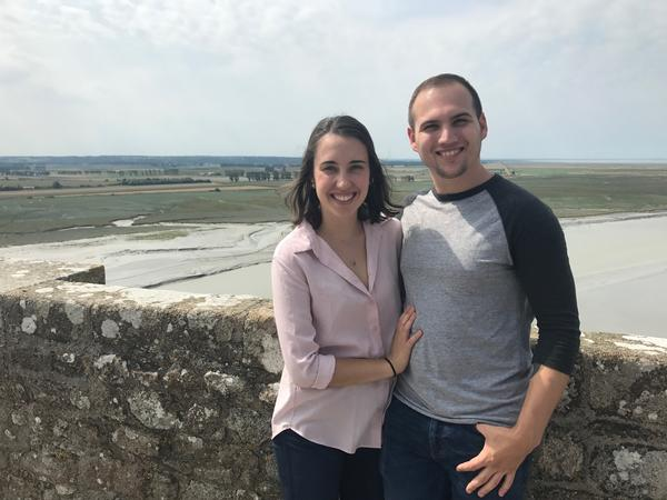 Elizabeth & Zachary from Rennes, France
