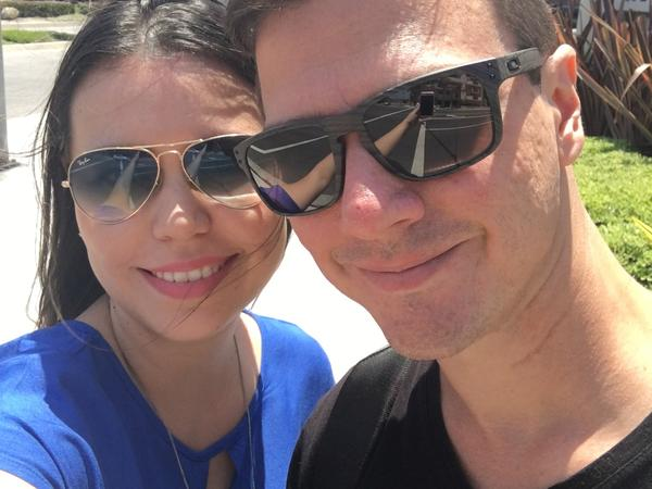 Guilherme & Thais from Piracicaba, Brazil