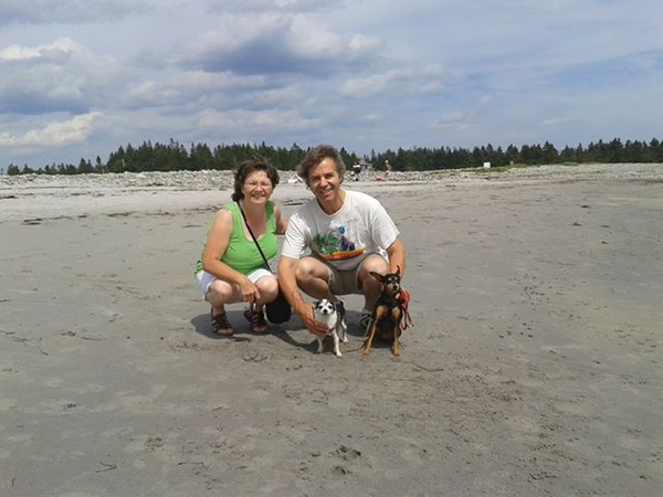 Max & Gisele from Bridgewater, NS, Canada