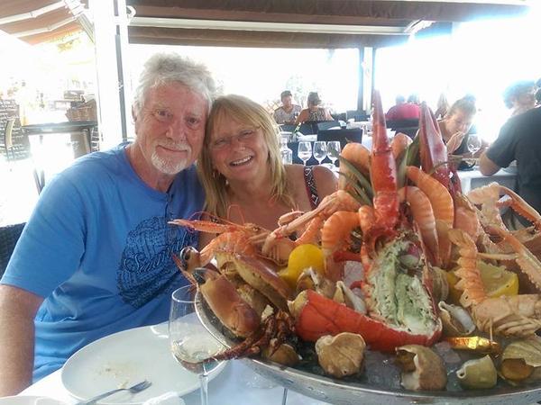 Virginia & Alan from Bordeaux, France