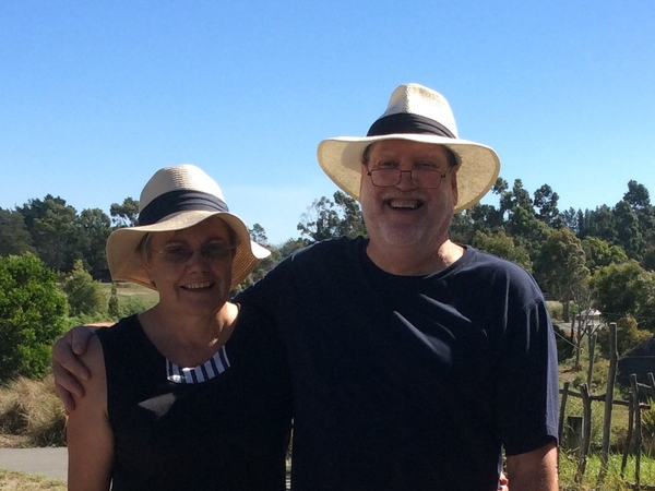 Julie & John from Springston, New Zealand
