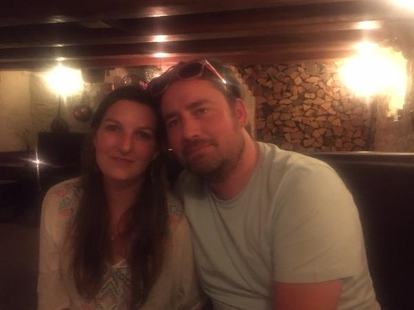Pauline & Ross from Guernsey