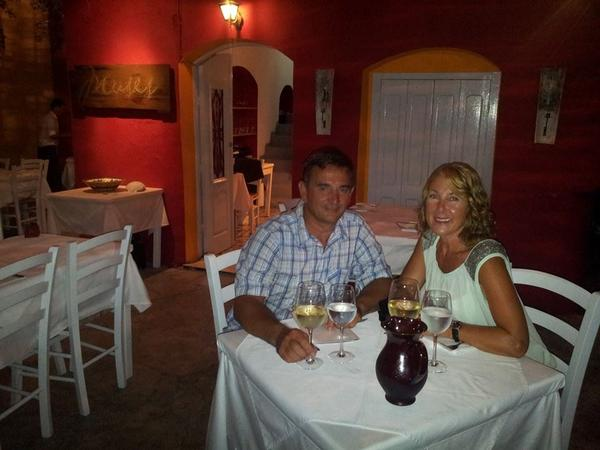 Janet & Paul from Chania Old Town, Greece