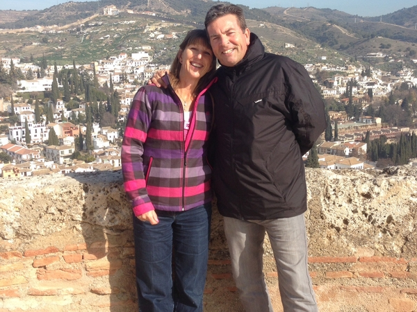 Jean & Mark from San Miguel de Salinas, Spain