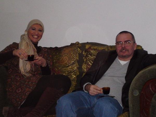 Amany & Simon  from Doha, Qatar