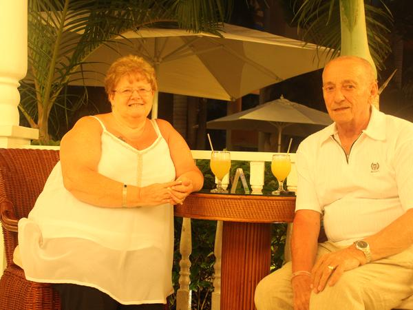 Michael & Susan from Burnley, United Kingdom