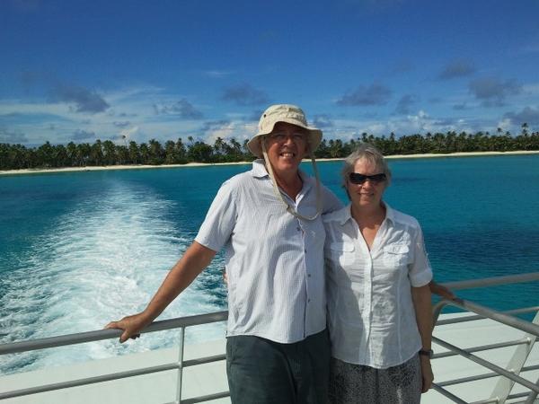 Oenone & Mike from Opononi, New Zealand