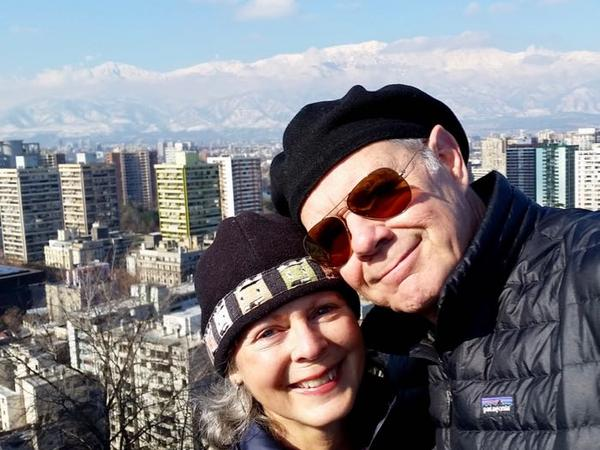 Jo ann & David from Santiago, Chile