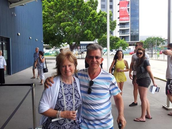 Alison & George from Gladstone, New South Wales, Australia