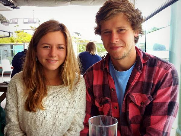 Emma & Reece from Falmouth, United Kingdom