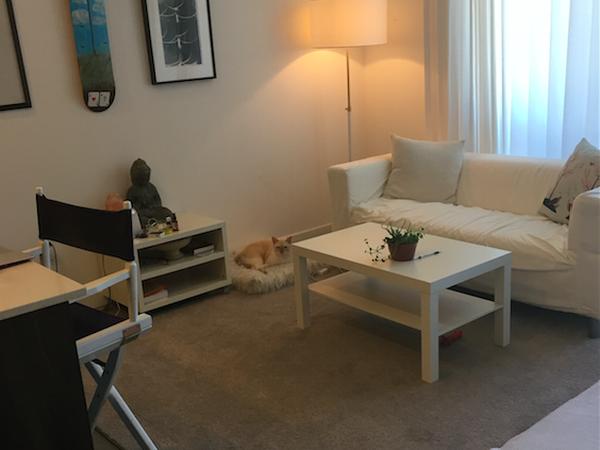 Modern apartment in Palms near yellow metro line