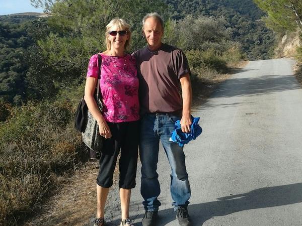 May & Simon from Carmarthen, United Kingdom