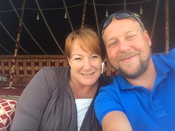 Chris & Heather from Madīnat Zāyid, United Arab Emirates