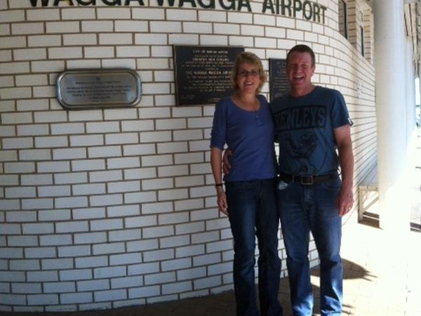 Wayne & Jacqui from Wagga Wagga, New South Wales, Australia