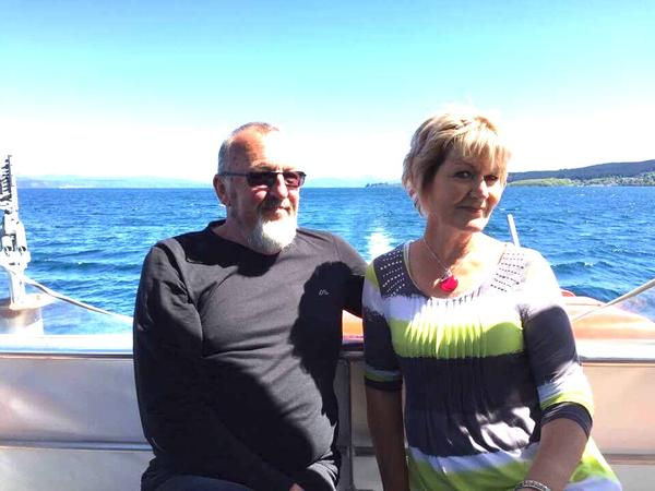 Paula & Piet from Taupo, New Zealand
