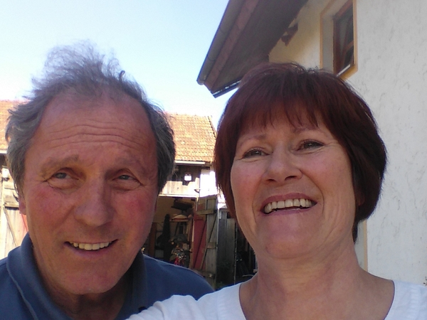 Christiane & Reinhard from Cham, Germany