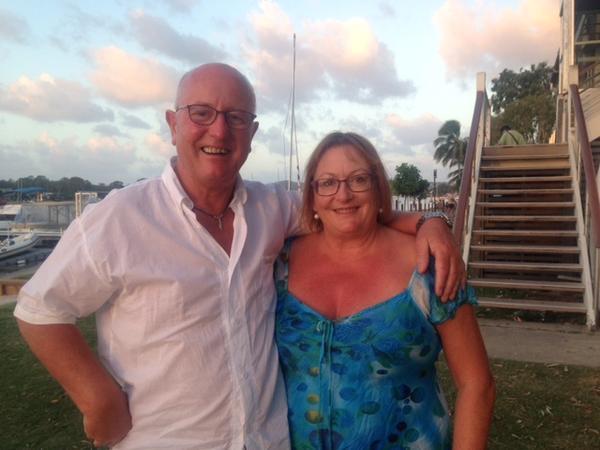 Maria & Trevor from Christchurch, New Zealand