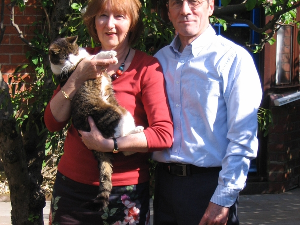 Geraldine & John from Church Stretton, United Kingdom