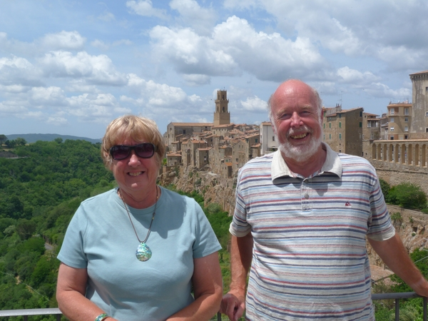 Judith & Peter from Uffculme, United Kingdom