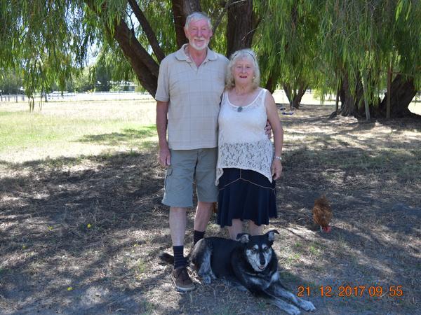 Louise & Graeme from Wagin, Western Australia, Australia