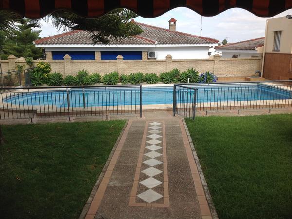 Sunny Seville, even in winter!