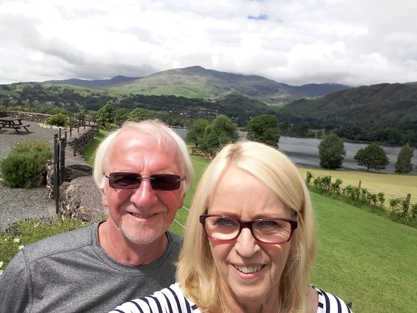 Lorraine & Brian from Blackpool, United Kingdom