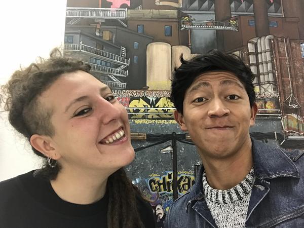 Abimael & Cristina from Conques-sur-Orbiel, France