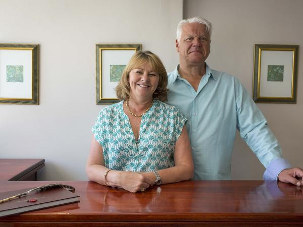 Mike & Sally from Cape Town, South Africa