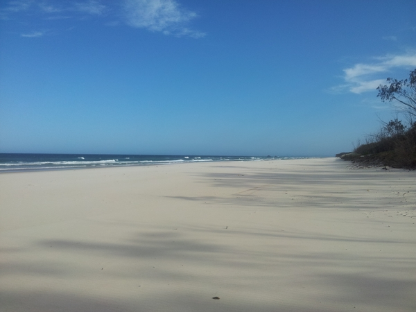Beautiful beach town