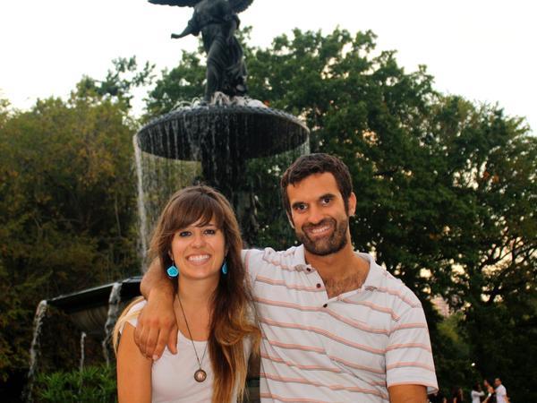 Ashley & Damían from Bilbao, Spain