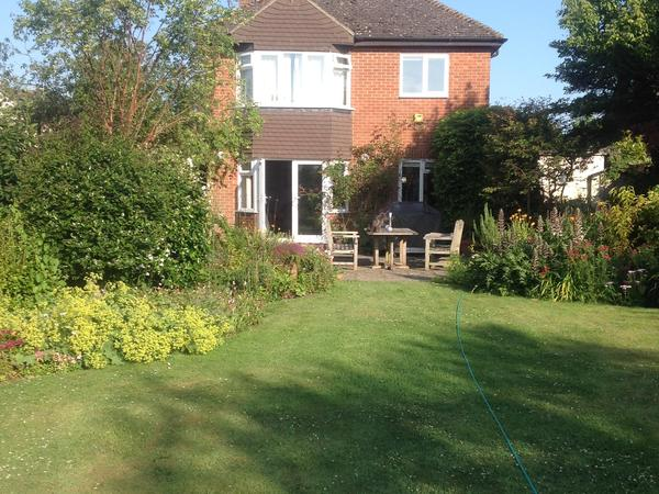 Detached home with large garden in village north of Milton Keynes