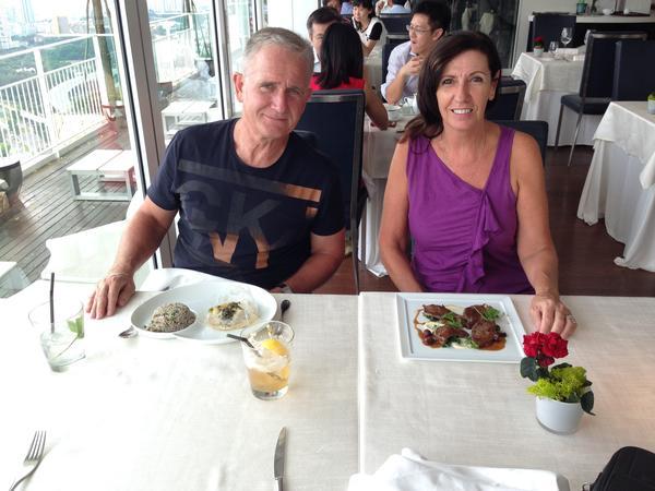 Cheryl & Martyn from Phra Nakhon, Thailand