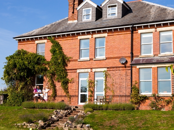 Beautiful Victorian property in 3 acres of land situated in south Herefordshire close to Monmouth, Ross on Wye and Symonds Yat