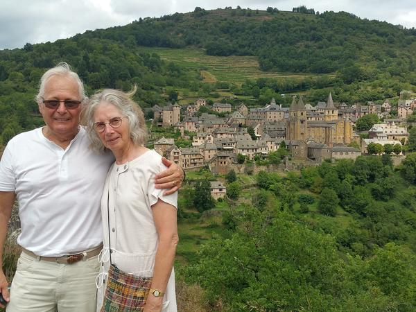 Yvonne & John from Cordes-sur-Ciel, France