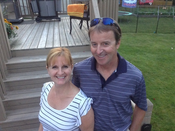Charlene & Gerry from Moncton, New Brunswick, Canada
