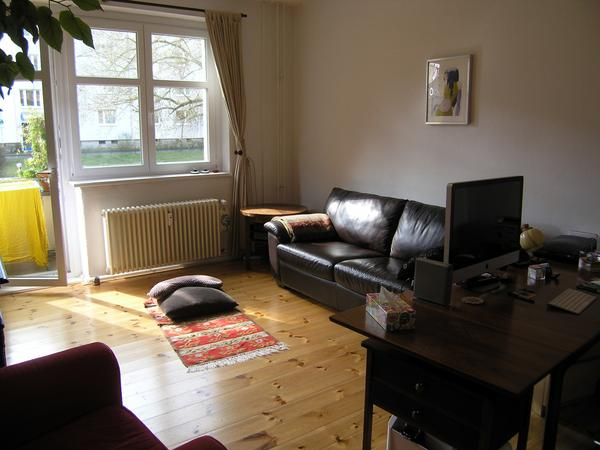 Cute Flat with Cat in Green Area near Plänterwald Forest